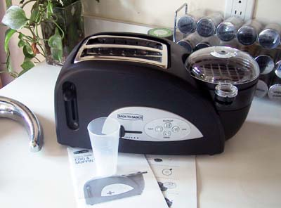back to basics egg and muffin toaster instruction manual