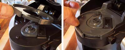 how to get hot water from tassimo