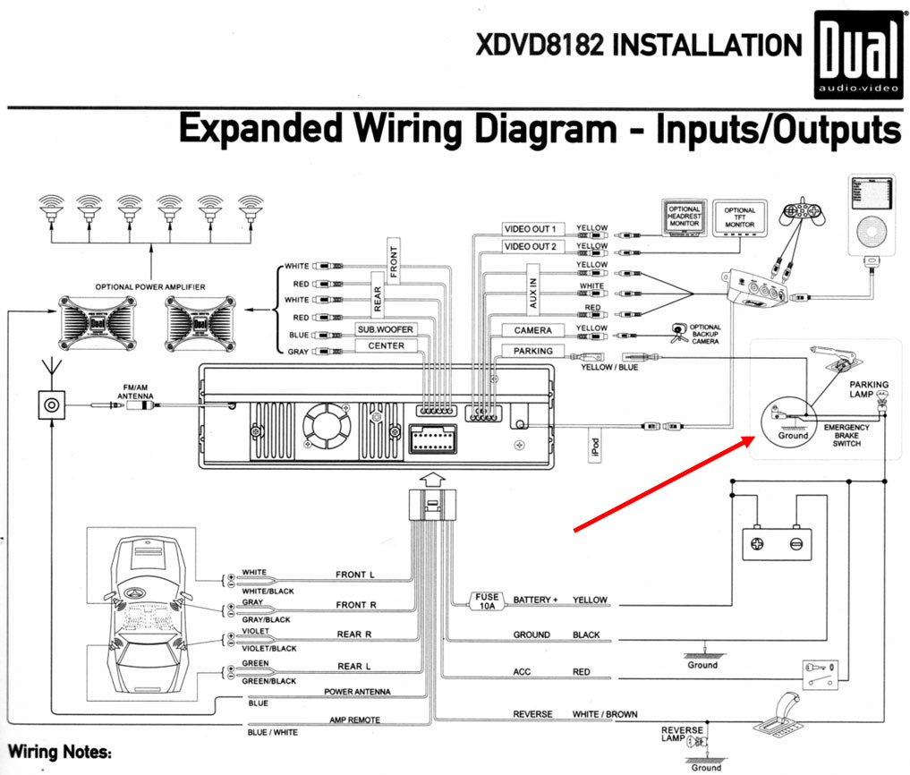 RDG DualXDVD8182FirstLook on sony xplod amp wiring diagram