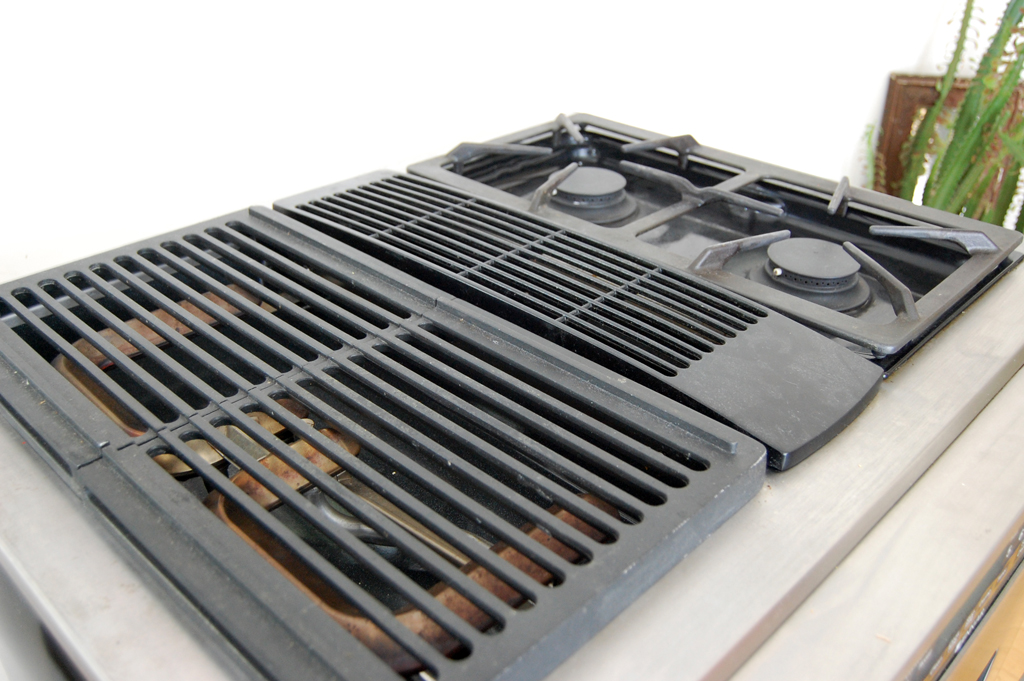 kitchen stove and grill ideas