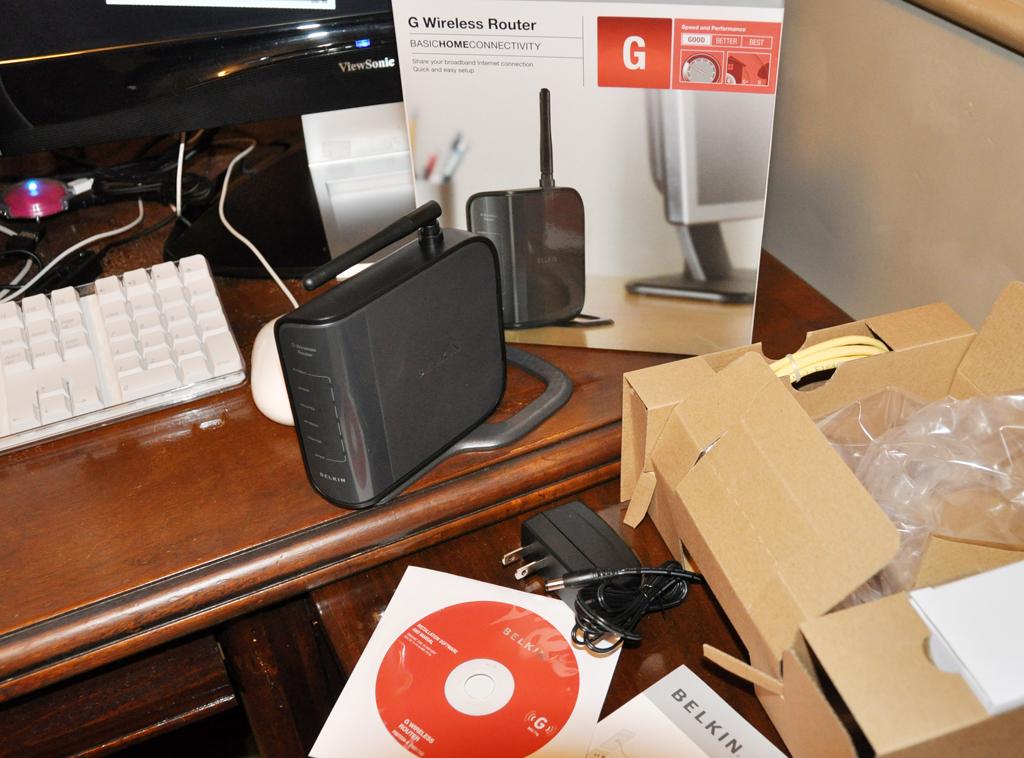 Belkin Router Setup Software