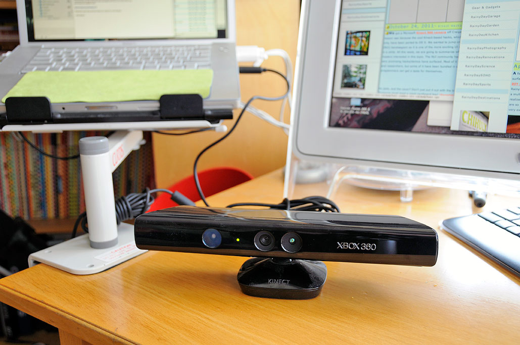 RainyDayEngineering: Kinect Hacks for OSX by Wan Chi Lau
