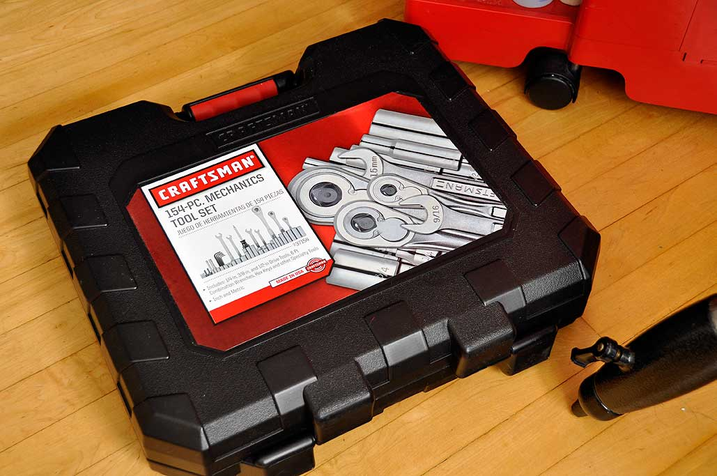 sears craftsman socket set case craftsman 263 pc mechanics tool