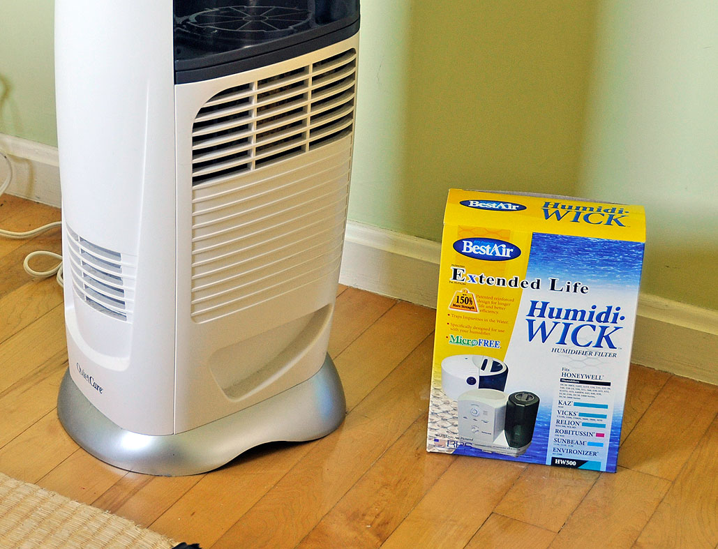 RainyDayRenovations: Humidifier Filter Replacement by Wan Chi Lau  #C5A606