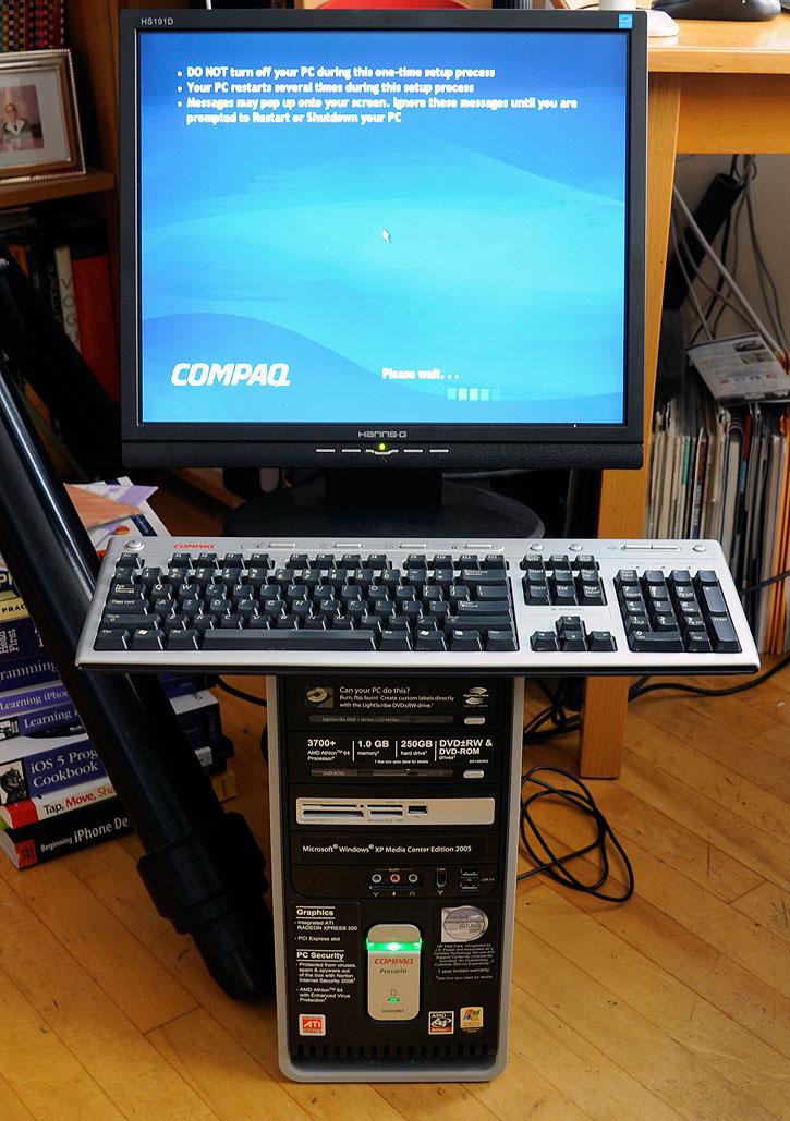 cnc machine setup