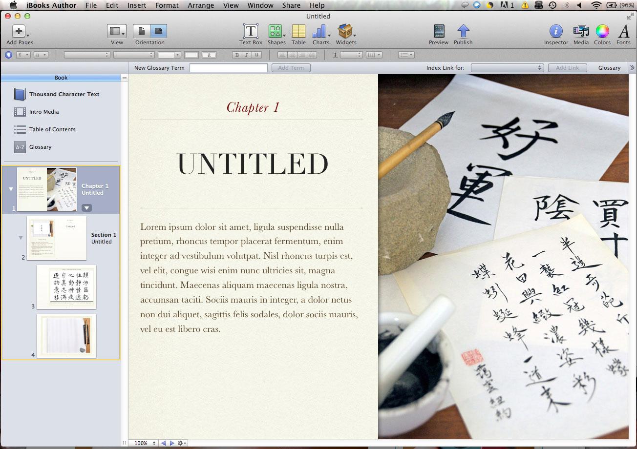 iBooks Author Templates | RainyDayMagazine
